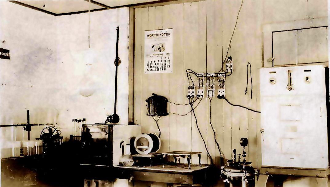 aiwrin creek Water 1923 laboratory