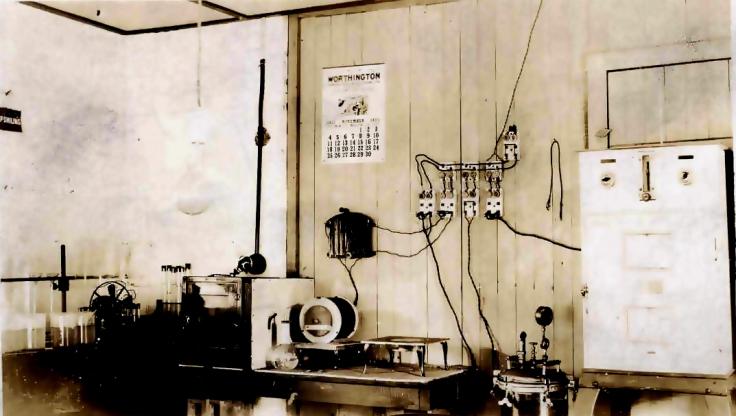 aiwrin creek Water 1923 laboratory